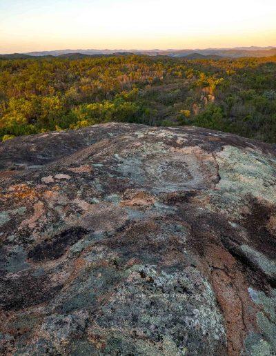 Lichenous Rock